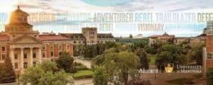 Học bổng trường đại học Manitoba Canada