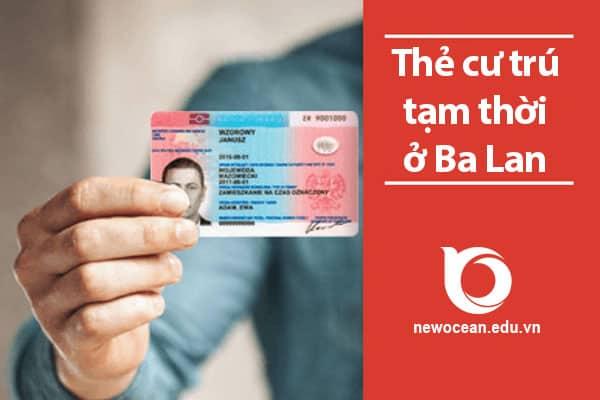 Thẻ cư trú tạm thời (thẻ tạm trú) ở Ba Lan
