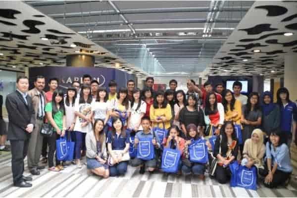 Trường Kaplan Singapore thu hút rất nhiều du học sinh quốc tế đến học tập