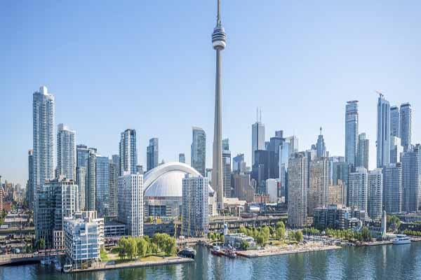 Toàn cảnh thành phố Toronto, tiểu bang Ontario, Canada