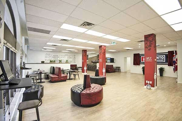 Không gian thư giãn của Trường Toronto School of Management, Canada
