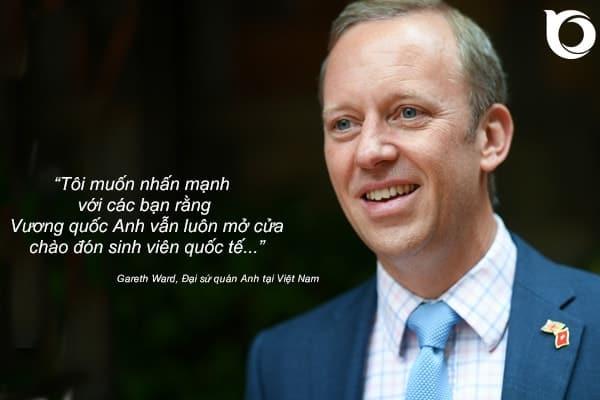 Gareth Ward - Đại sứ quán Anh tại Việt Nam