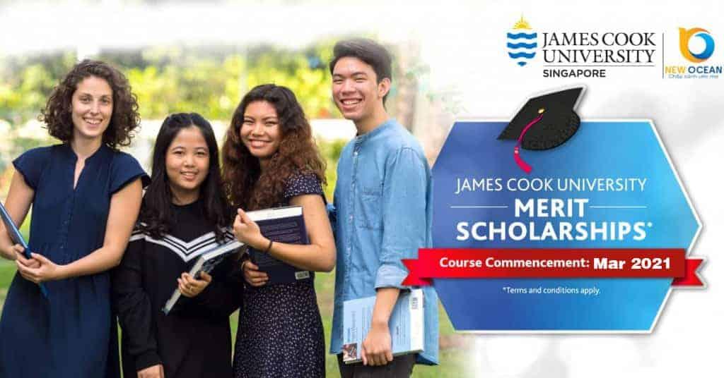 Học bổng lên đến 100% của trường Đại học James Cook