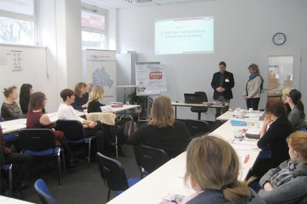 Một lớp học của trường nghề Euro Akademie