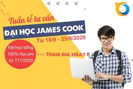 Tuần lễ tư vấn du học Singapore trường Đại học James Cook
