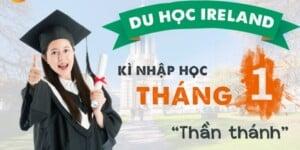 """Du học Ireland với kì nhập học tháng 1 """"thần thánh"""""""