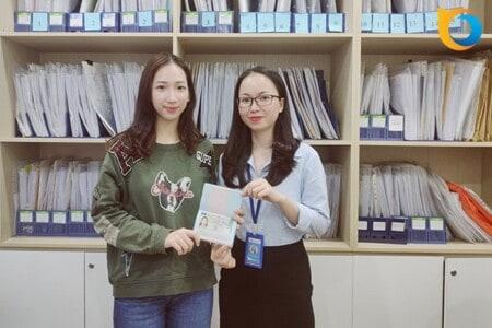 Chúc mừng Visa du học Thụy Sĩ Trịnh Lê Ngọc Anh