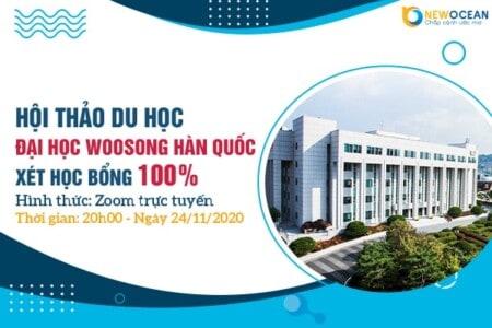 Hội thảo trực tuyến cùng trường Đại học Woosong, Hàn Quốc