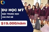 Du học Mỹ bậc trung học với chi phí trọn gói chỉ từ $19,000
