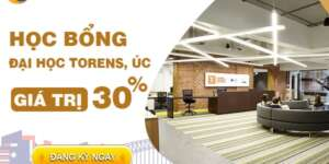 Học bổng tự động 30% từ Đại học Torrens Úc