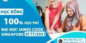 Học bổng lên đến 100% cho kỳ tháng 07 của trường Đại học James Cook