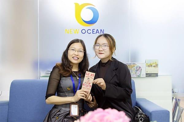 Trao lì xì – Chắp cánh ước mơ cùng New Ocean