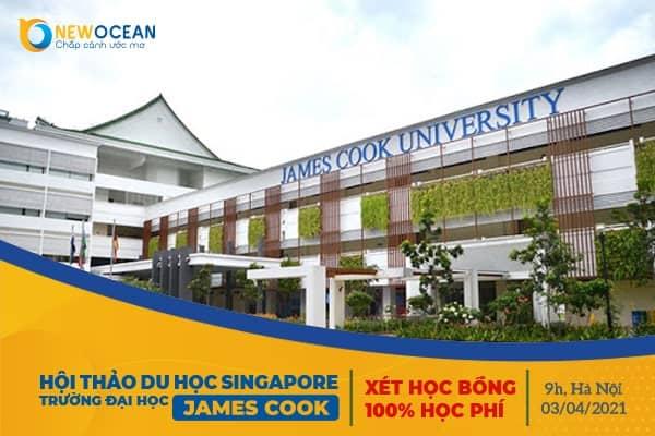 Hội thảo du học trường Đại học James Cook Singapore