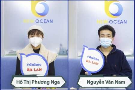 Visa du học Ba Lan Hà Thị Phương Nga và Nguyễn Văn Nam