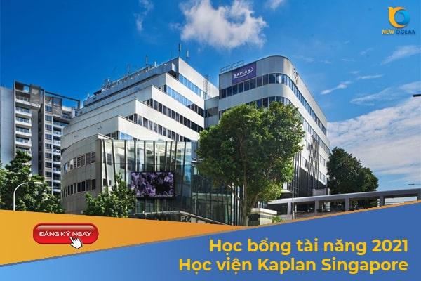 Học bổng tài năng 2021 từ Học viện KapLan Singapore