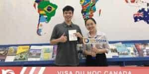 Visa du học Canada Vũ Tiến Đạt trường Centennial College