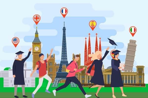 Top 10 quốc gia có nhiều sinh viên quốc tế nhất