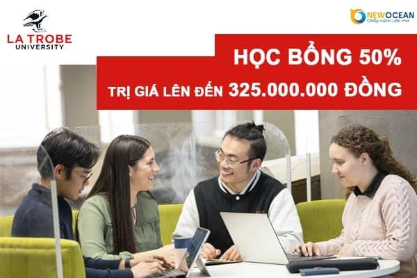 Học bổng KHỦNG từ La Trobe University trị giá hơn 300 triệu đồng