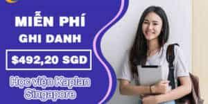 Ưu đãi miễn phí ghi danh từ Học viện Kaplan, Singapore