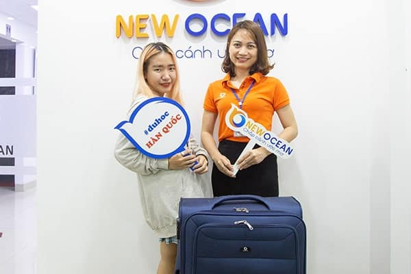 Visa du học Hàn Quốc Lê Trần Mỹ Anh